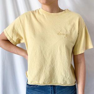 Brandy Melville J GALT Embroidered Graphic T-Shirt